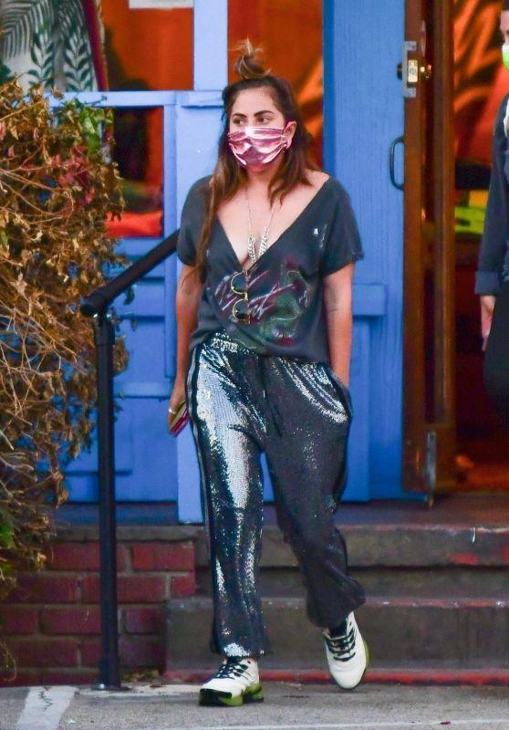 Lady Gaga - Shopping at Aviator Nation in Malibu 05/26/2021