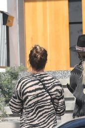 Laeticia Hallyday and Jalil Lespert - Out in Pacific Palisades 05/07/2021