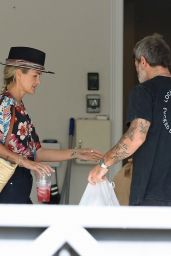 Laeticia Hallyday Moving Out of Her Home in the Pacific Palisades 05/04/2021