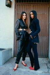 Laura Harrier and Kendall Jenner - Vogue Magazine 2021