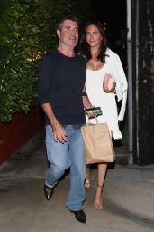 Lauren Silverman and Simon Cowell at Giorgio Baldi in Santa Monica 05/04/2021