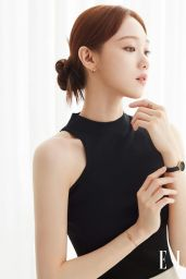 Lee Sung Kyung - Photographed for ELLE Magazine Korea June 2021