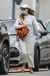 Leighton Meester in Comfy Outfit - Pacific Palisades 05/10/2021