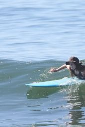 Leighton Meester - Surf Session in Malibu 05/09/2021