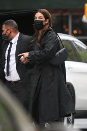 Lily Aldridge - Out in the Tribeca Neighborhood of NY 05/07/2021