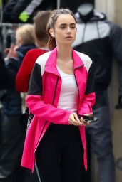 Lily Collins - Out in Paris 05/19/2021
