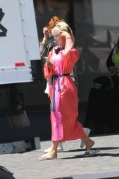 "Lily James - ""Pam & Tommy"" Set in LA 05/03/2021"