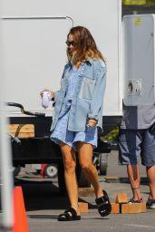 """Lily James - """"Pam & Tommy"""" Set in Malibu 05/28/2021"""