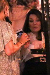 Lisa Vanderpump - Night Out in West Hollywood 05/13/2021