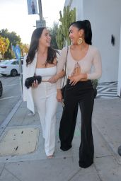 Liz Kennedy and Julissa Bermudez at a Catch LA Restaurant in West Hollywood 05/25/2021