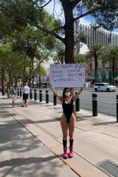 Liziane Gutierrez in a Swimsuit 04/29/2021