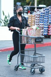 Lori Harvey - Grocery Shopping at Bristol Farms in West Hollywood 05/25/2021