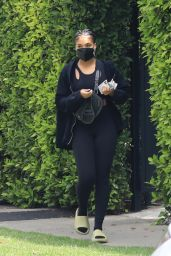 Lori Harvey - Out in Beverly Hills 05/19/2021