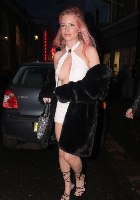 Lottie Moss at Louie Restaurant in Covent Garden in London 05/22/2021