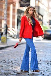 Louisa Warwick Street Style - NYC 05/27/2021