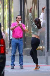 Luann de Lesseps on Fifth Avenue in NY 05/20/2021