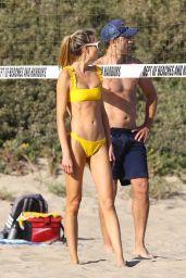 Ludi Delfino - Beach Volleyball in Santa Monica 04/30/2021