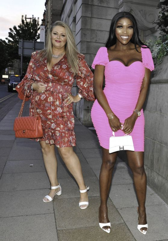 Lystra Adams and Deborah Davies at Boujee Bar in Manchester City Centre 05/18/2021