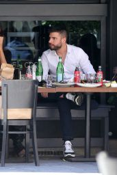 Madalina Ghenea - Lunch With Khaby Lame in Milan 05/20/2021