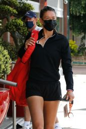 Madison Keys Arriving at Her Hotel in Paris 05/29/2021
