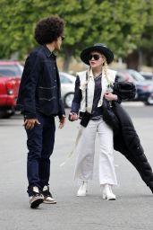 Madonna and Ahlamalik Williams in Los Angeles 05/03/2021