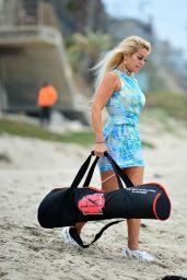 Marcela Iglesias - Photoshoot For Her Fitness Brand EdgecrossX in Malibu 05/06/2021