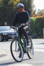 Marcia Cross - Bike Ride in Brentwood 05/09/2021