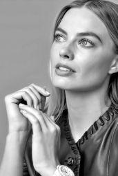 Margot Robbie - Chanel J12 Watch Campaign 2021