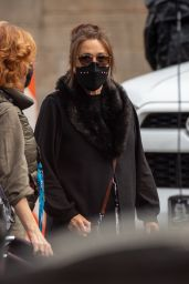 """Marisa Tomei - Arrives on the Set of  """"Spiderman: No Way Home"""" in Atlanta 05/03/2021"""