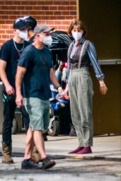 "Maya Hawke - ""Stranger Things"" Set in Atlanta 05/05/2021"