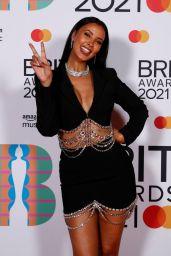 Maya Jama – BRIT Awards 2021