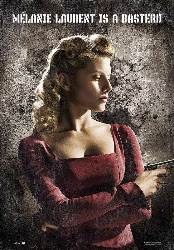 """Mélanie Laurent - """"Inglorious Basterds"""" Posters"""