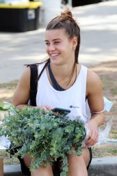Melanie Wozniak at a Local Farmers Market 05/02/2021
