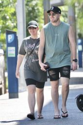 Melissa Rawson and Bryce Ruthven - Out in Darwin 05/07/2021