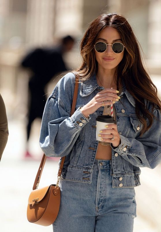 Michelle Keegan - Out in London 05/20/2021