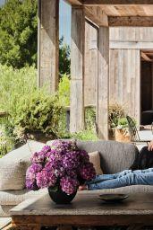 Mila Kunis and Ashton Kutcher - Architectural Digest June 2021