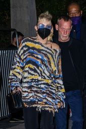 Miley Cyrus - Exits the SNL After Party in NY 05/08/2021