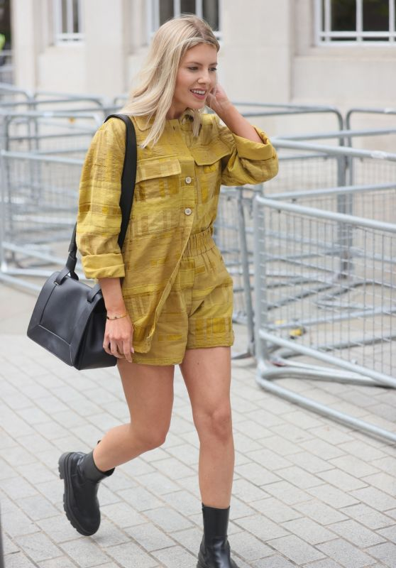 Mollie King - Outside the BBC Studios in London 05/29/2021