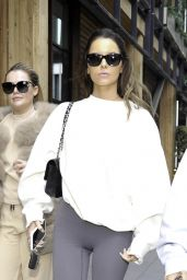 Molly-Mae Hague and Maura Higgins - Leave The Ivy Restaurant in Manchester 05/19/2021