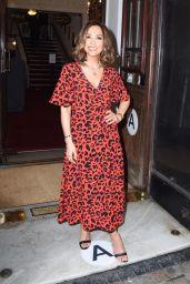 Myleen Klass at Vaudeville Theatre Drag Queens of Pop Press Night in London 05/18/2021