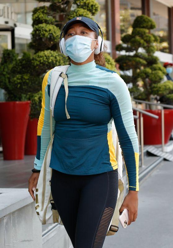 Naomi Osaka at Her Hotel in Paris 05/29/2021