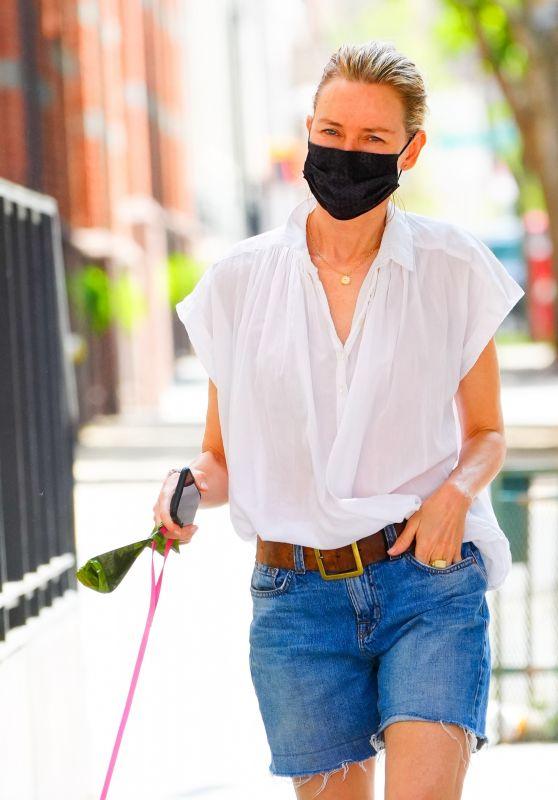 Naomi Watts - Walking Her Dog in New York 05/22/2021