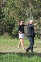 Natalie Portman and Benjamin Millepied in Sydney 05/10/2021