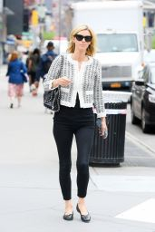 Nicky Hilton in a Black and White Ensemble - East Village 05/04/2021