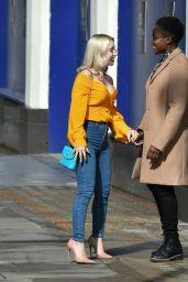 Nicola Adams and Ella Baig - Leaving Hakkasan in Mayfair 05/17/2021