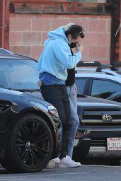 Nicola Peltz and Brooklyn Beckham at Matsuhisa Sushi Restaurant in Beverly Hills 05/24/2021