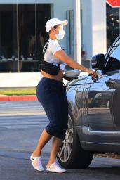Nicole Murphy at Lemonade in West Hollywood 05/26/2021