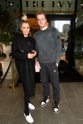 Olivia Attwood at The Ivy Restaurant in Manchester 05/06/2021