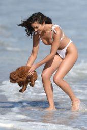 Olivia Culpo in a Bikini - Beach in in Malibu 05/12/2021