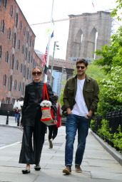 Olivia Palermo at the Park in Brooklyn 05/07/2021